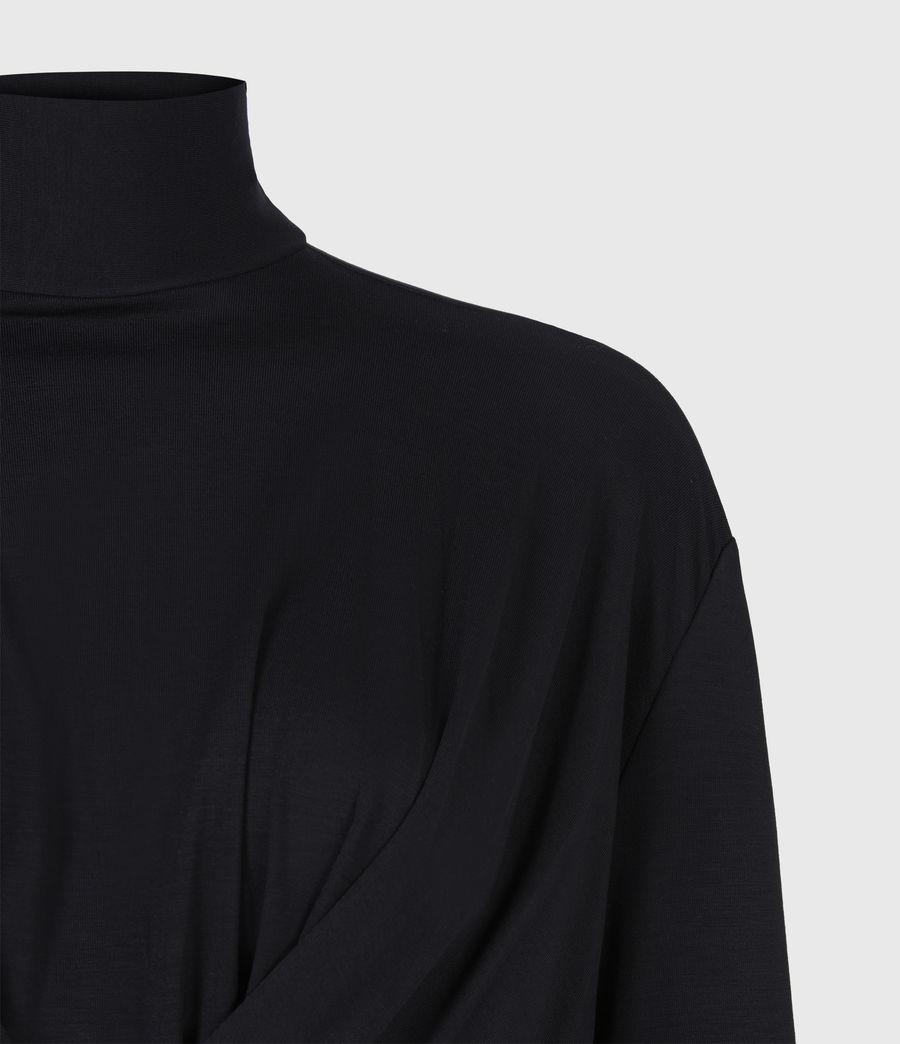 Damen Erna Dress (black) - Image 5