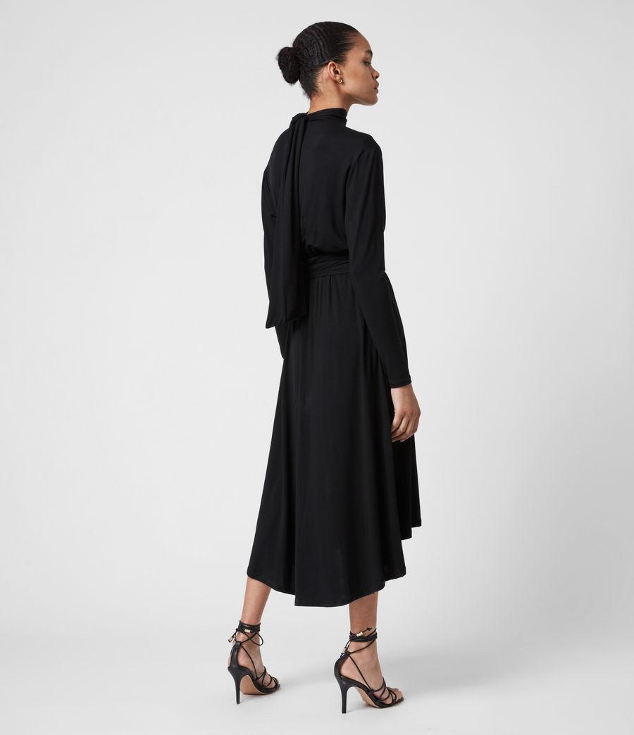 Damen Erna Dress (black) - Image 7