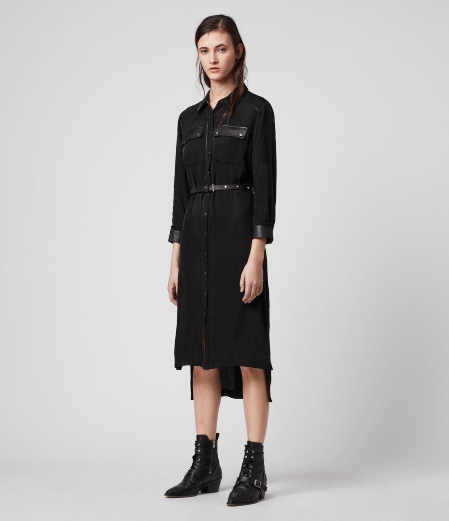 Womens Esther Lea Dress (black) - Image 1