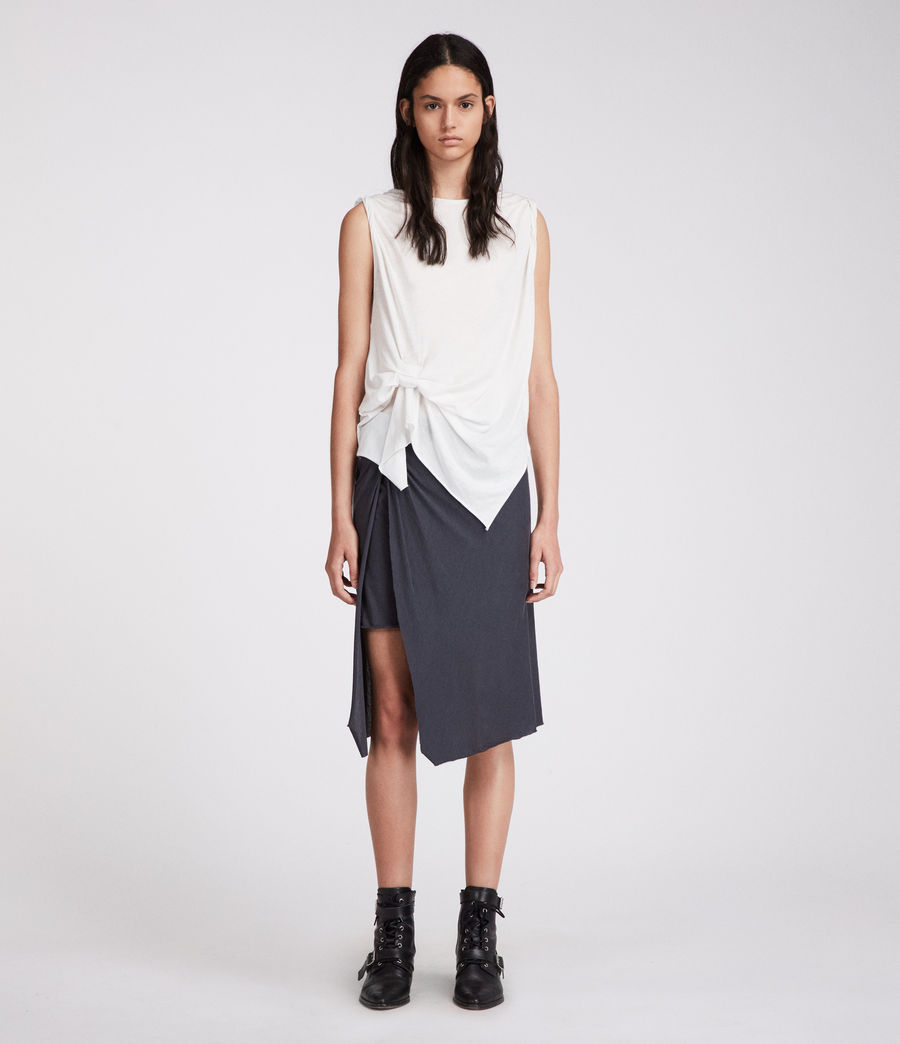 Women's Sur Skirt (washed_black) - Image 1