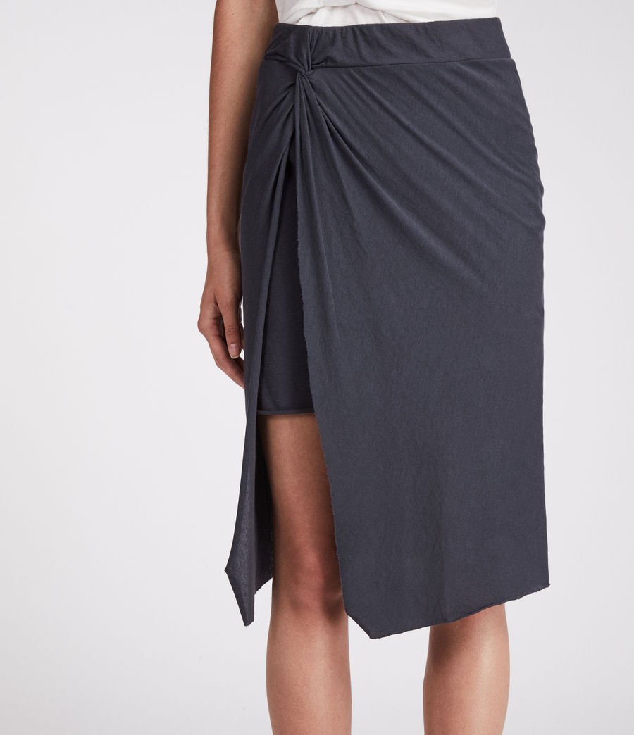 Women's Sur Skirt (washed_black) - Image 2