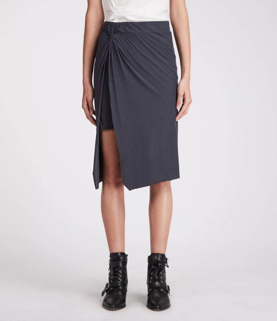 Women's Sur Skirt (washed_black) - Image 3