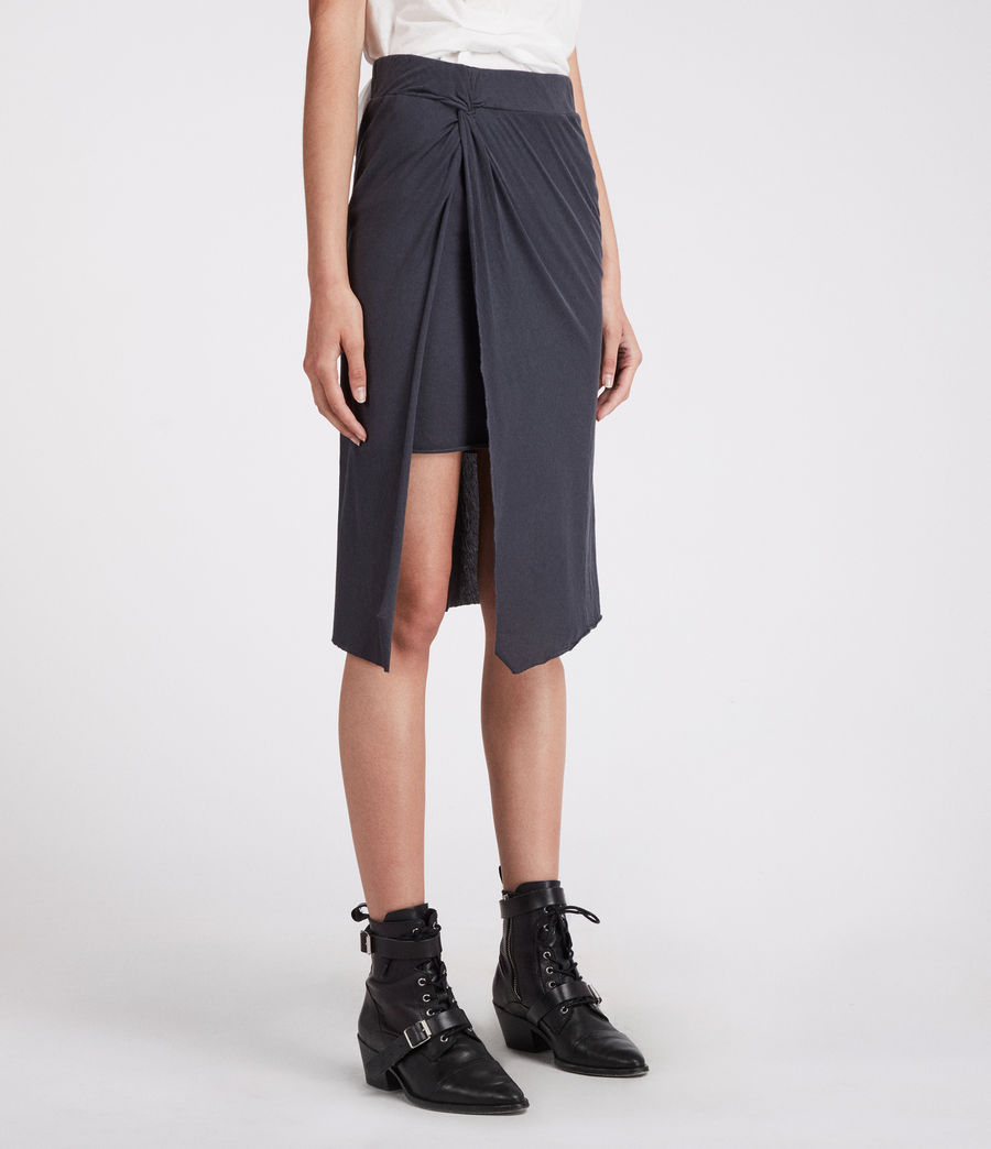 Women's Sur Skirt (washed_black) - Image 4