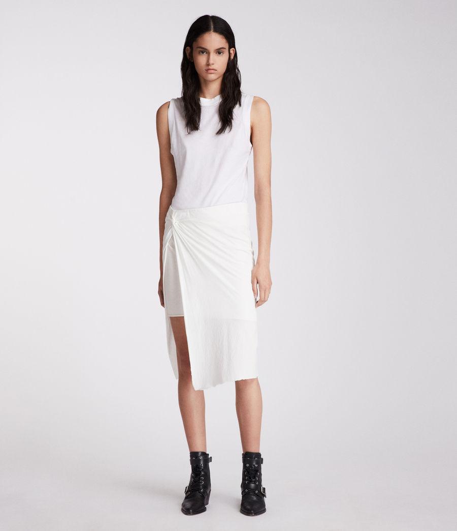 Mujer Falda Sur (chalk_white) - Image 3