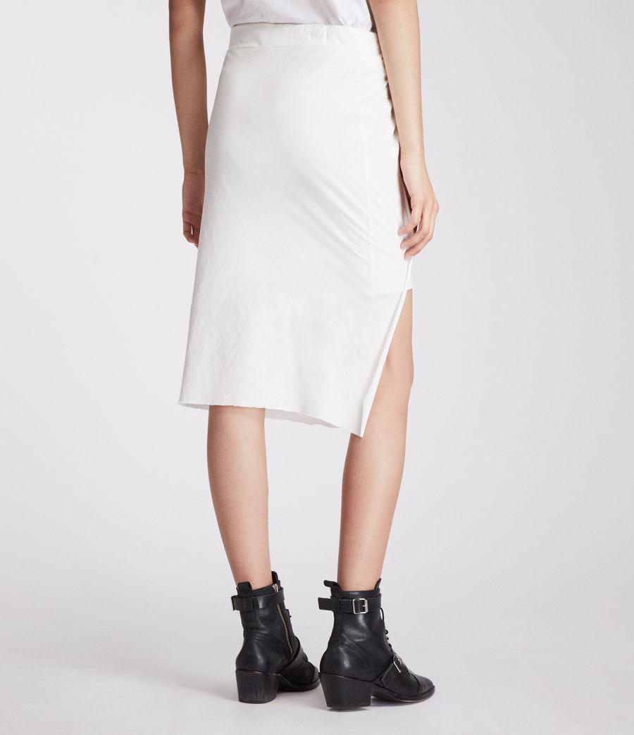 Femmes Jupe Sur (chalk_white) - Image 5
