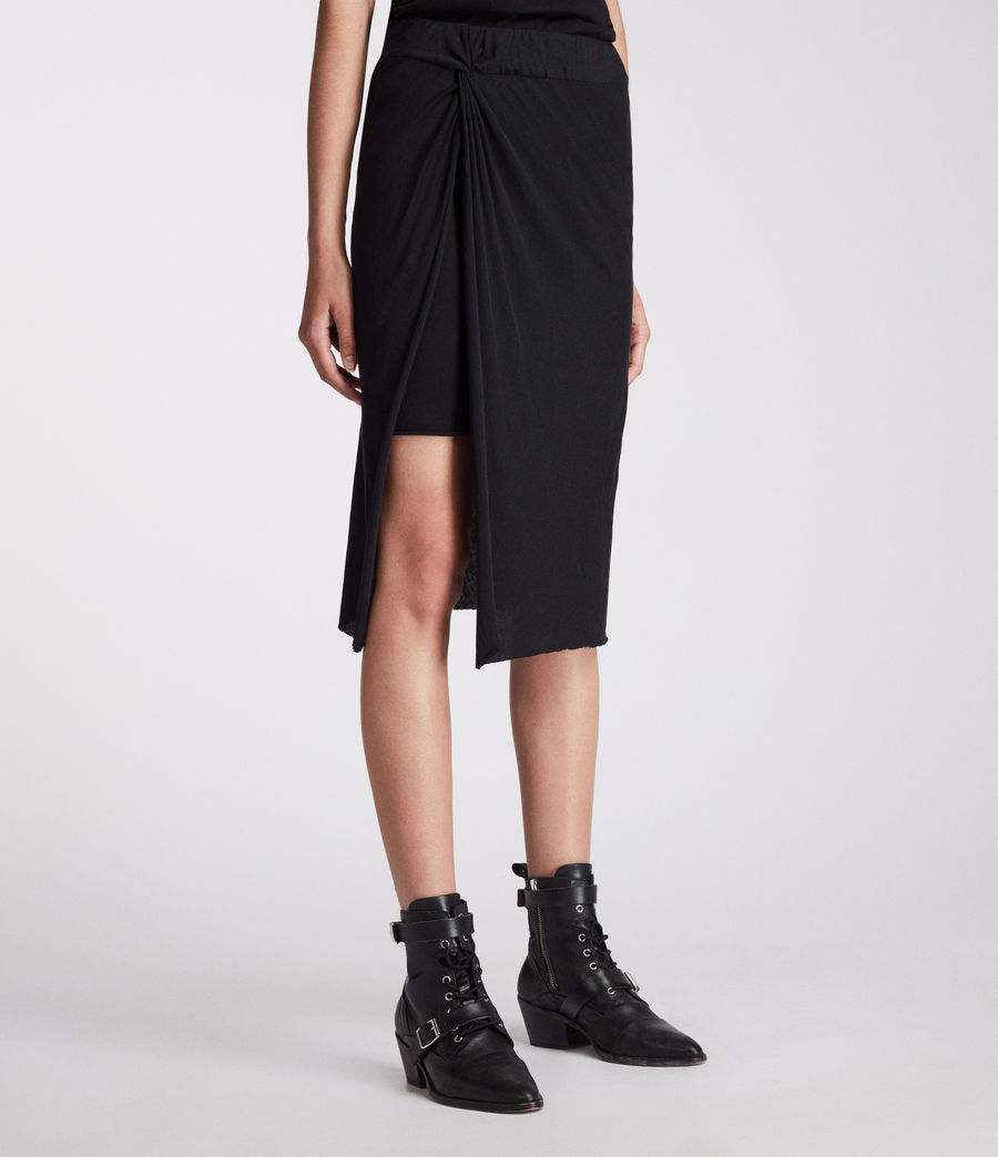 Womens Sur Skirt (jet_black) - Image 1