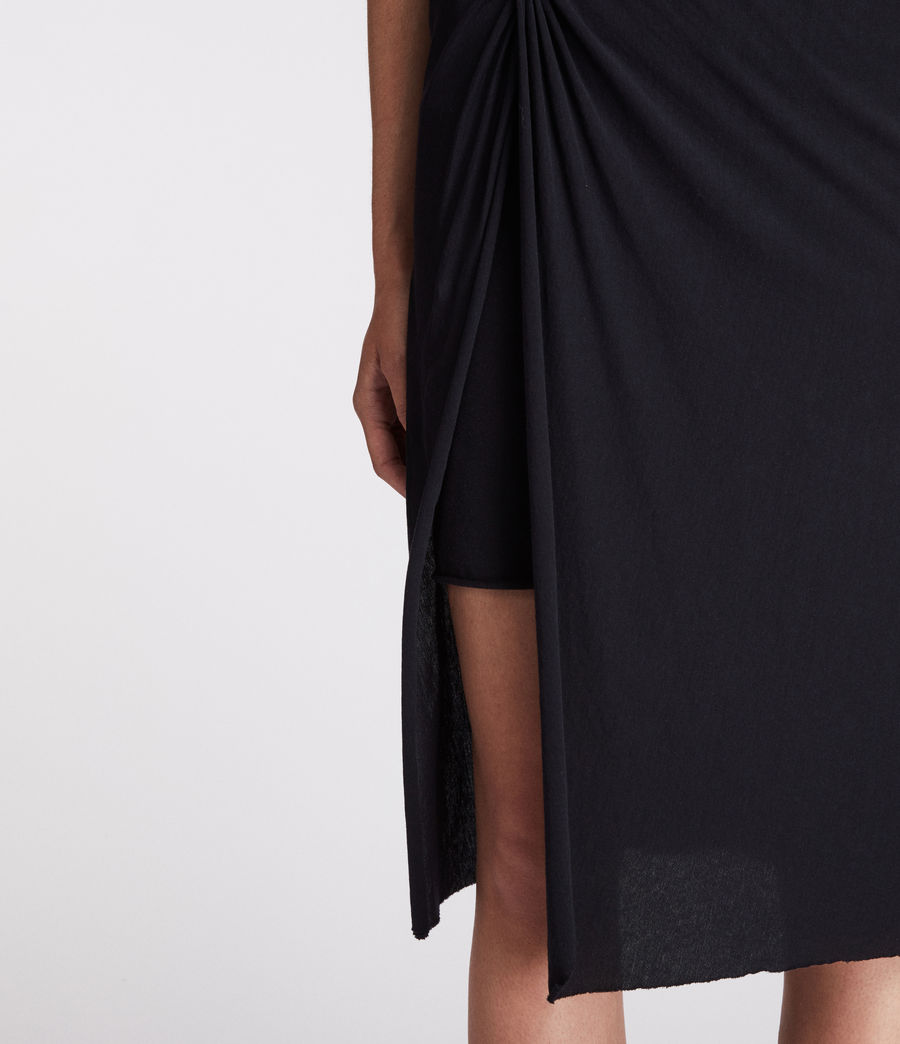 Womens Sur Skirt (jet_black) - Image 2