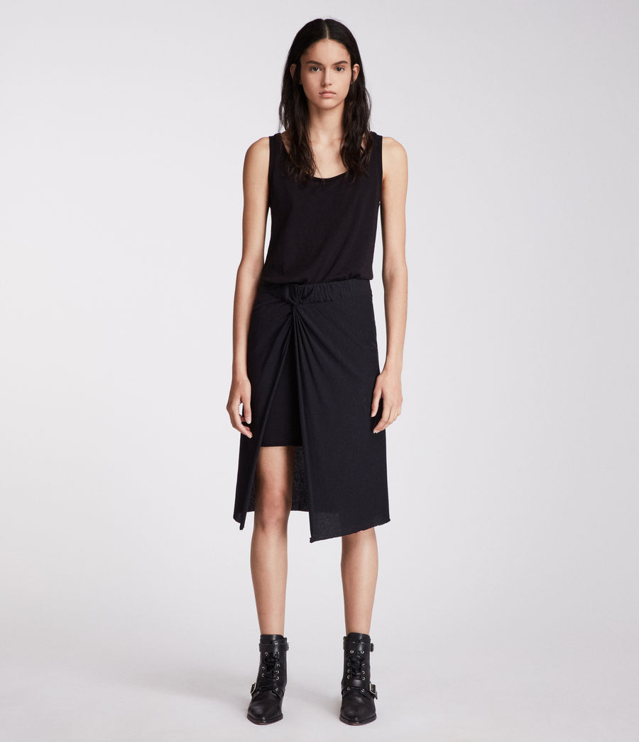 Womens Sur Skirt (jet_black) - Image 3