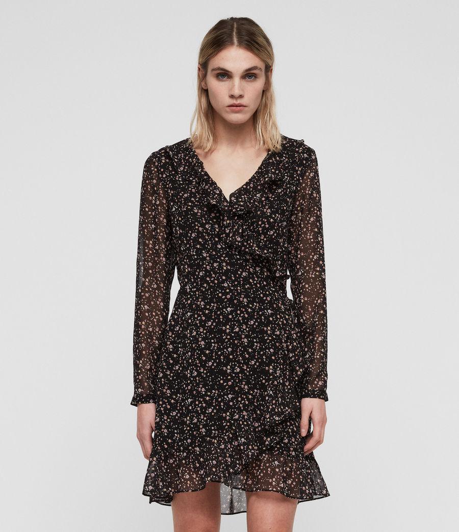 Women's Kiyah Pepper Dress (black) - Image 1