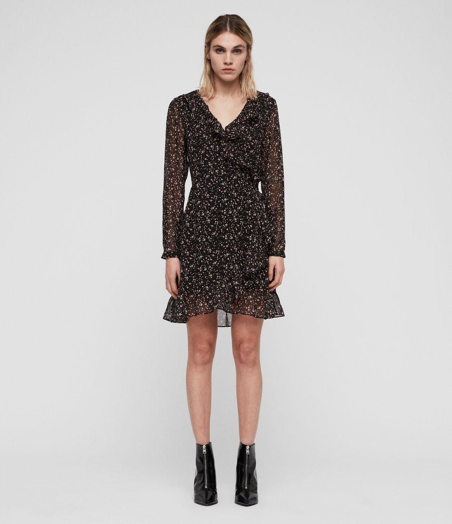 Women's Kiyah Pepper Dress (black) - Image 3