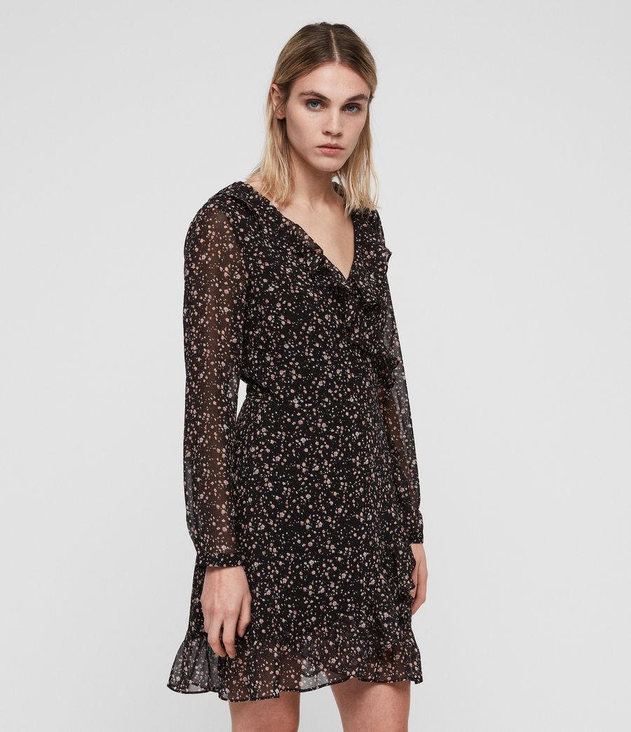Women's Kiyah Pepper Dress (black) - Image 4