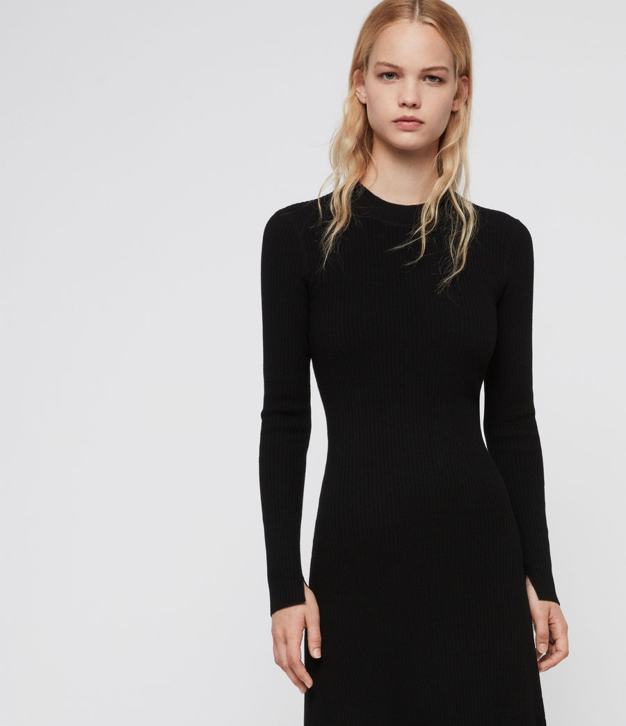 Women's Nala Dress (black) - Image 4