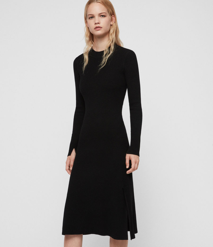 Women's Nala Dress (black) - Image 5
