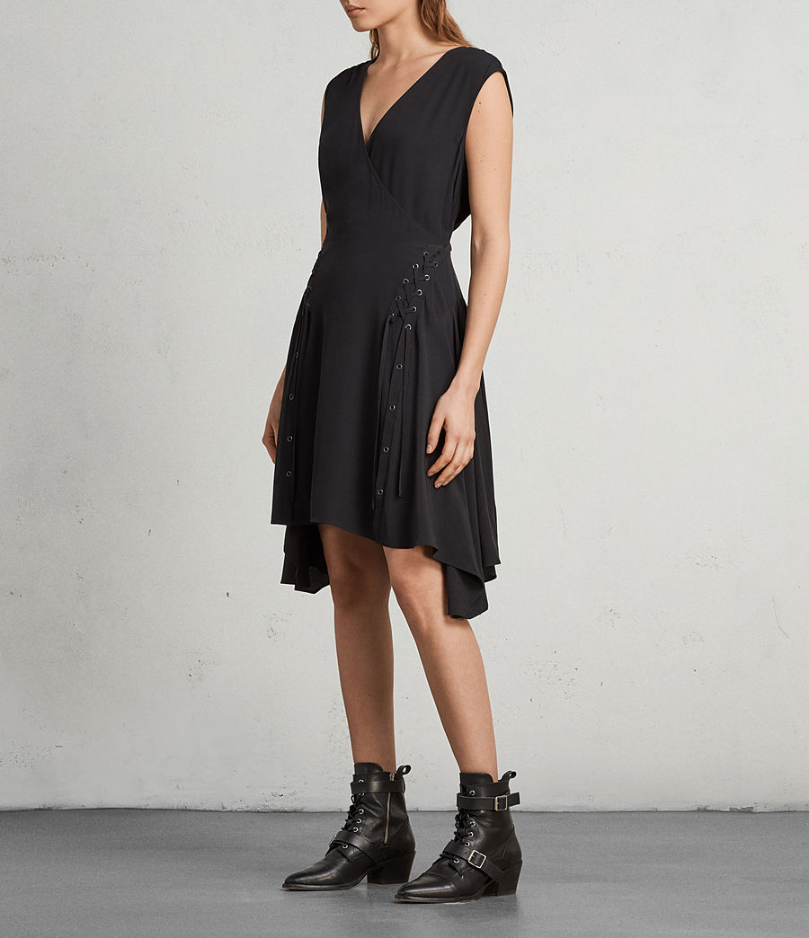 Women's Miller Dress (black) - Image 1