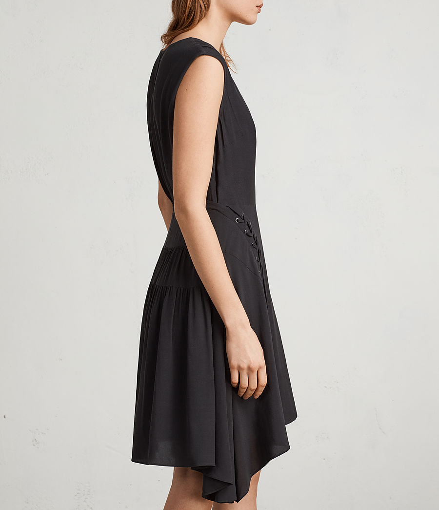 Women's Miller Dress (black) - Image 4