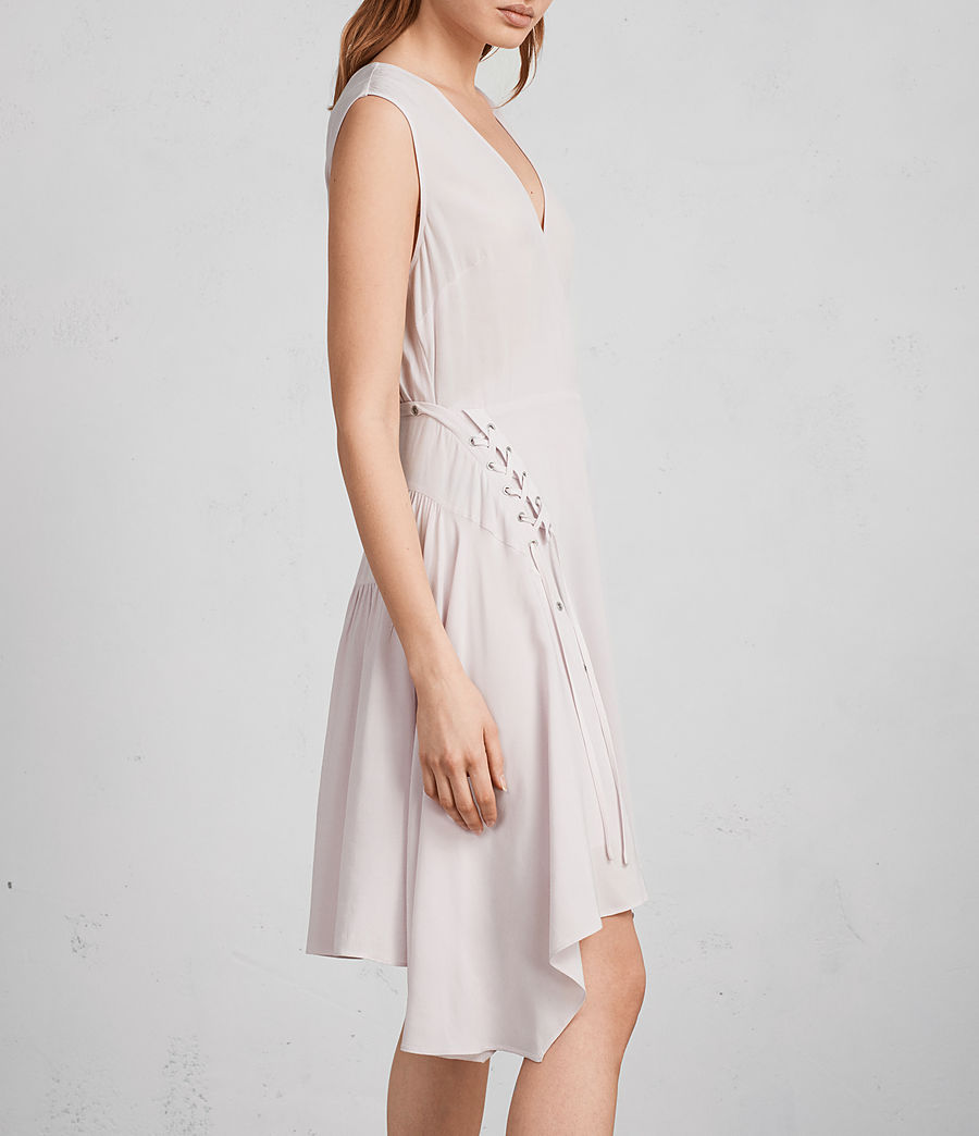 Womens Miller Dress (lilac_pink) - Image 2
