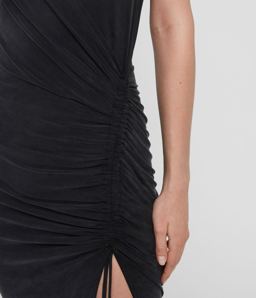 Womens Jacka Dress (washed_black) - Image 3