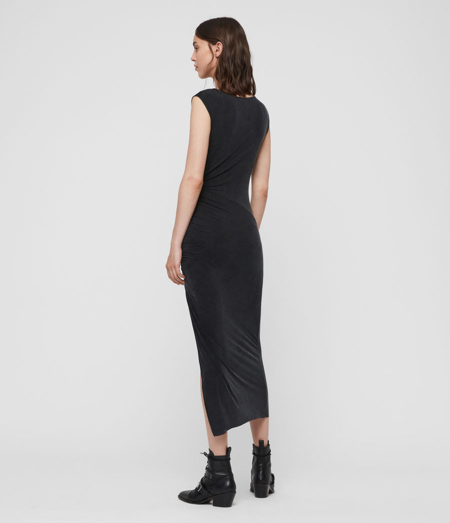 Womens Jacka Dress (washed_black) - Image 5
