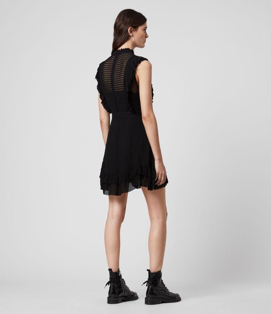 Mujer Mini Vestido Lola (black) - Image 5