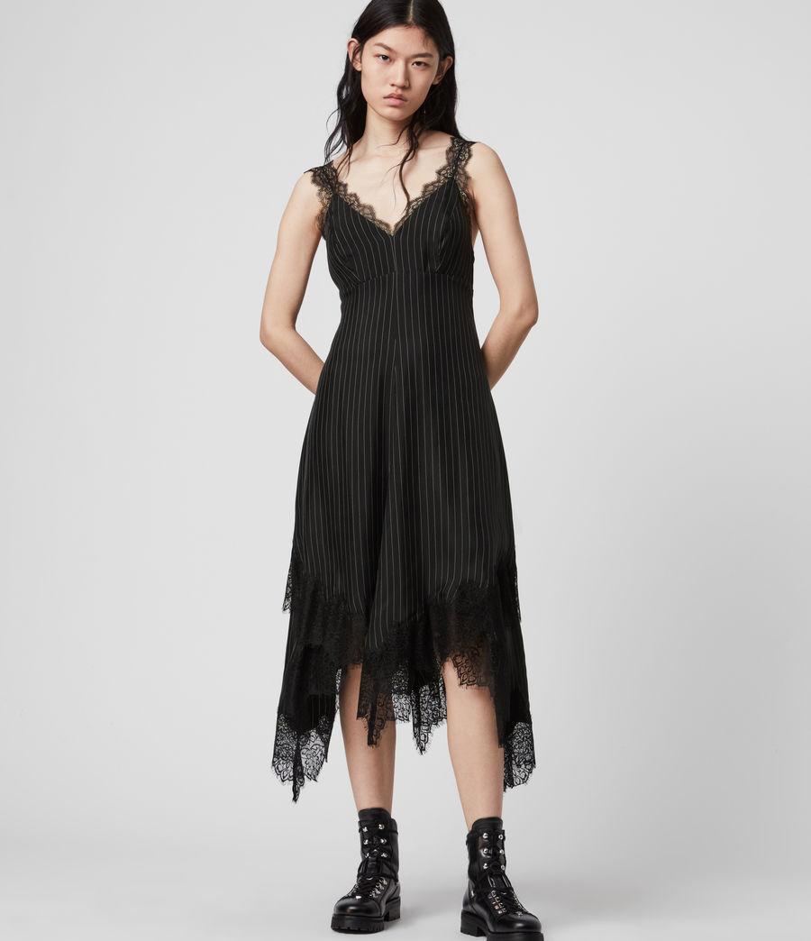 Womens Skylar Lace Dress (black) - Image 1