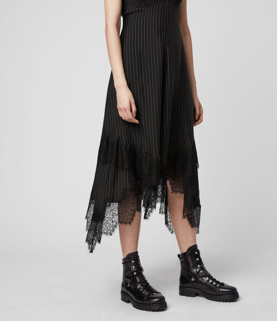 Womens Skylar Lace Dress (black) - Image 5