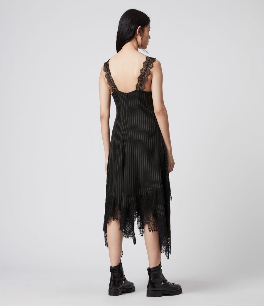 Womens Skylar Lace Dress (black) - Image 6