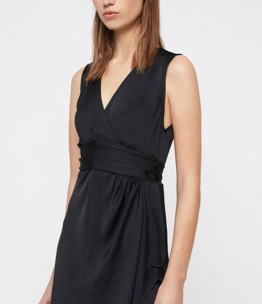 Women's Sarai Dress (black) - Image 3