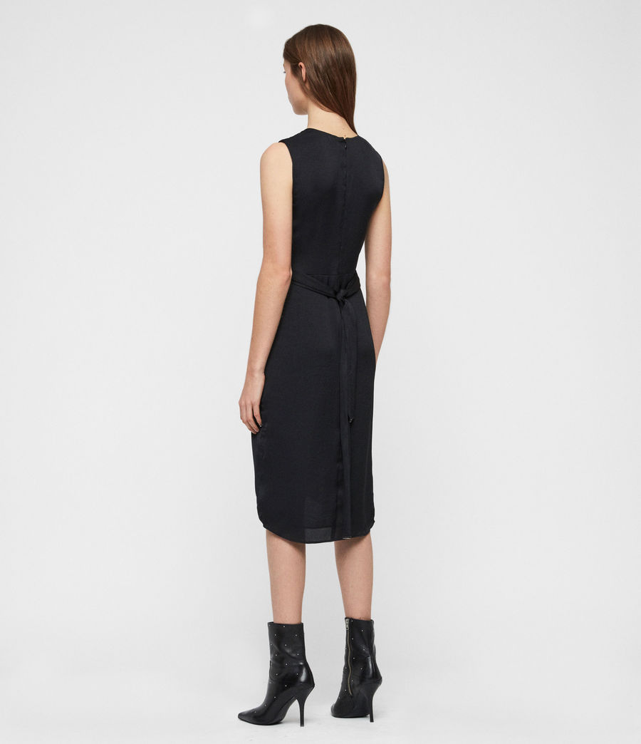 Women's Sarai Dress (black) - Image 4