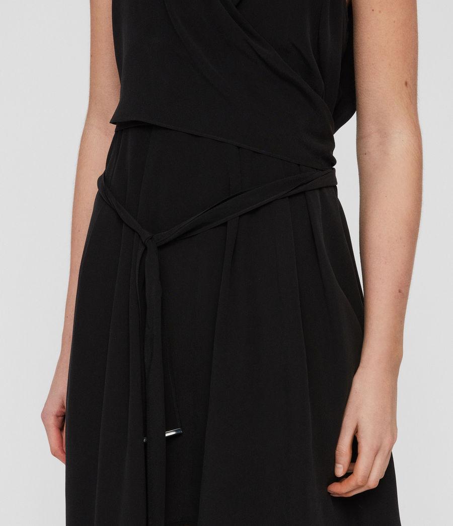 Women's Odessa Dress (black) - Image 4
