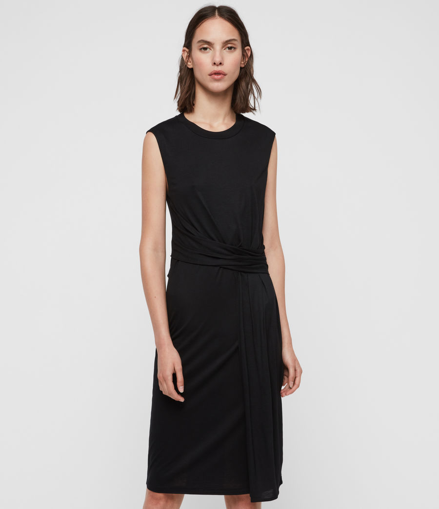 Womens Limera Dress (black) - Image 1