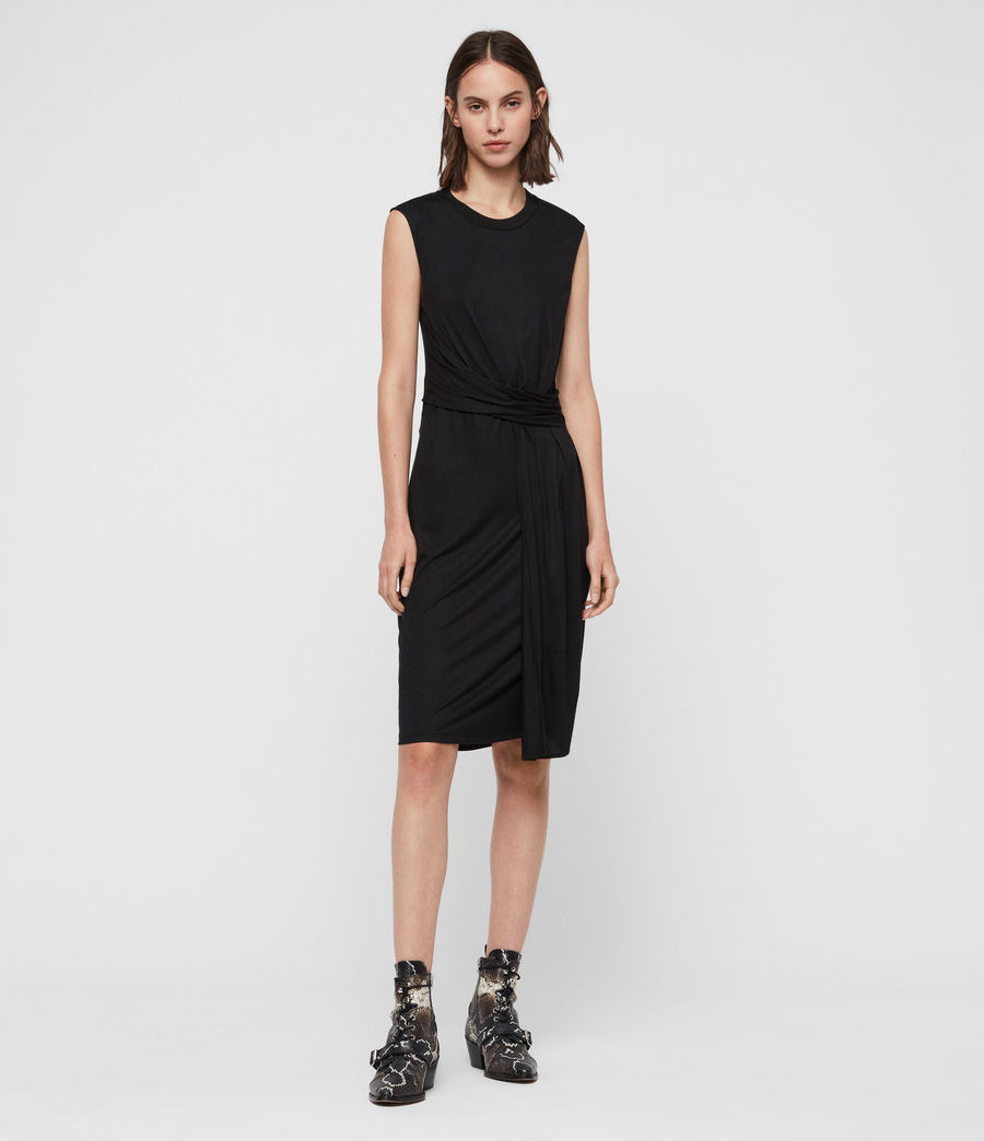 Womens Limera Dress (black) - Image 3