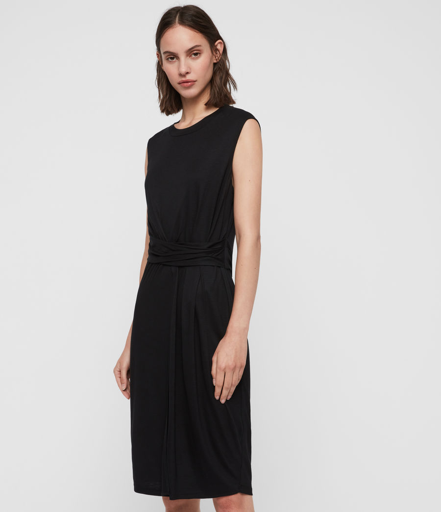 Womens Limera Dress (black) - Image 4