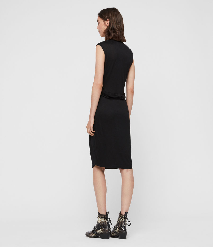 Womens Limera Dress (black) - Image 5