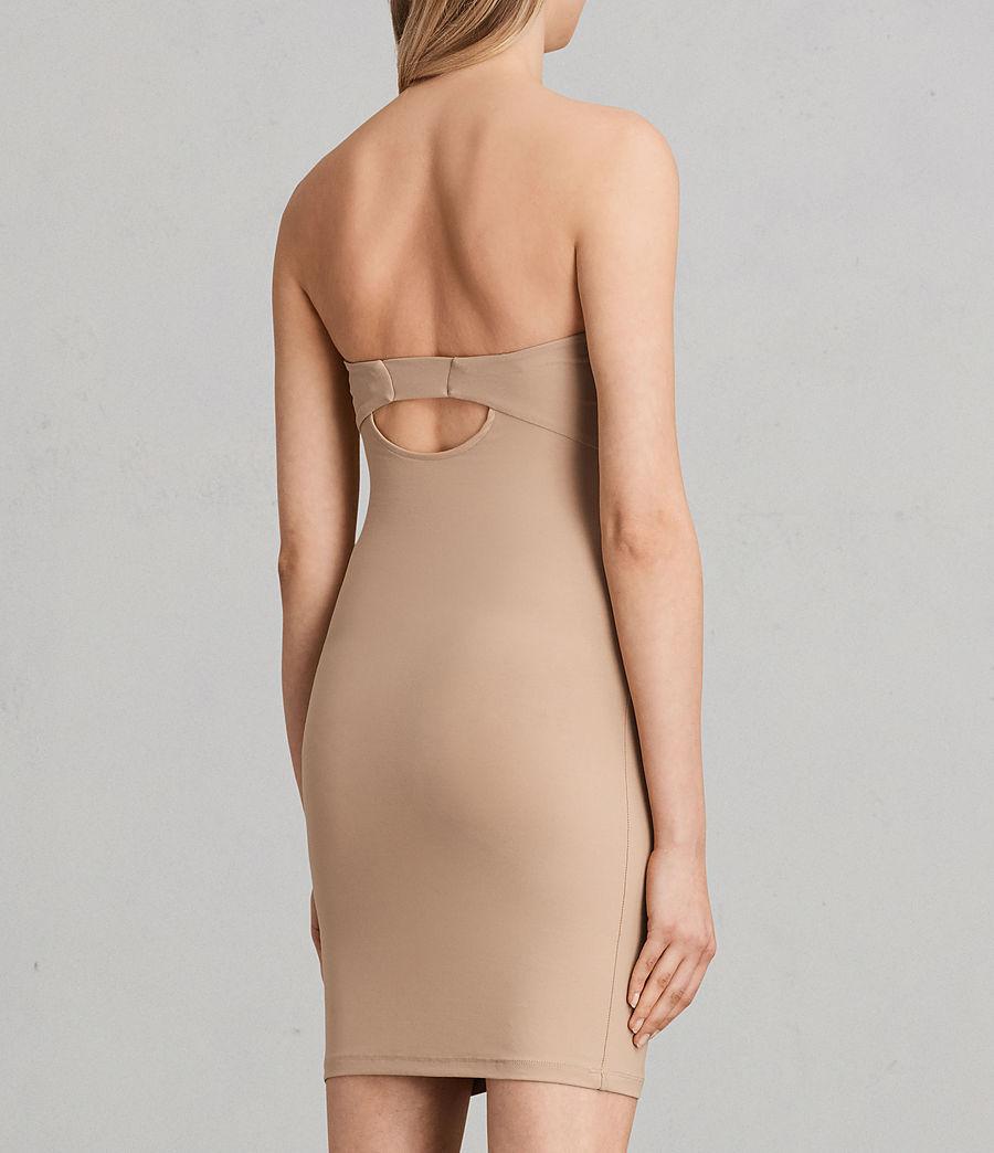 Damen Ballet Bustierkleid (nude) - Image 3