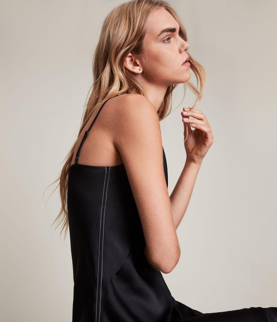 Womens Lena 2-In-1 Dress (black) - Image 2