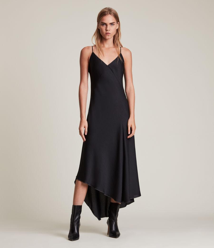Womens Lena 2-In-1 Dress (black) - Image 3