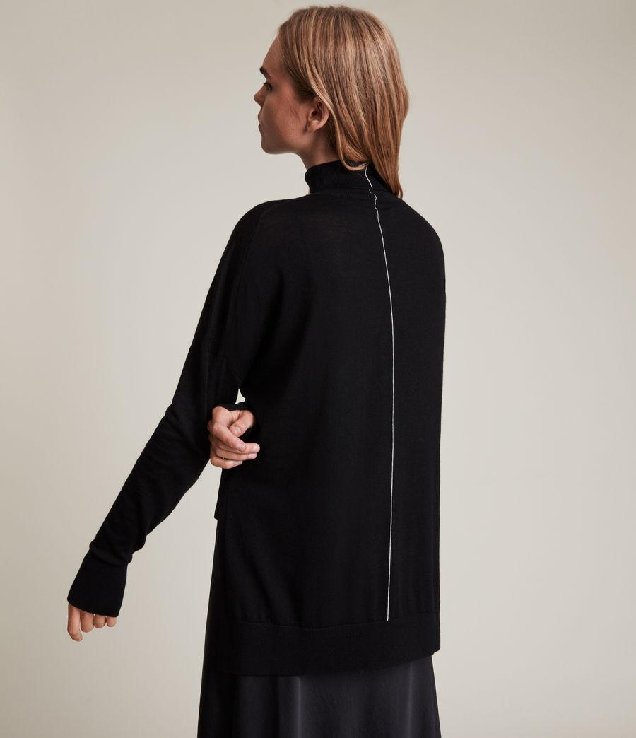 Womens Lena 2-In-1 Dress (black) - Image 6