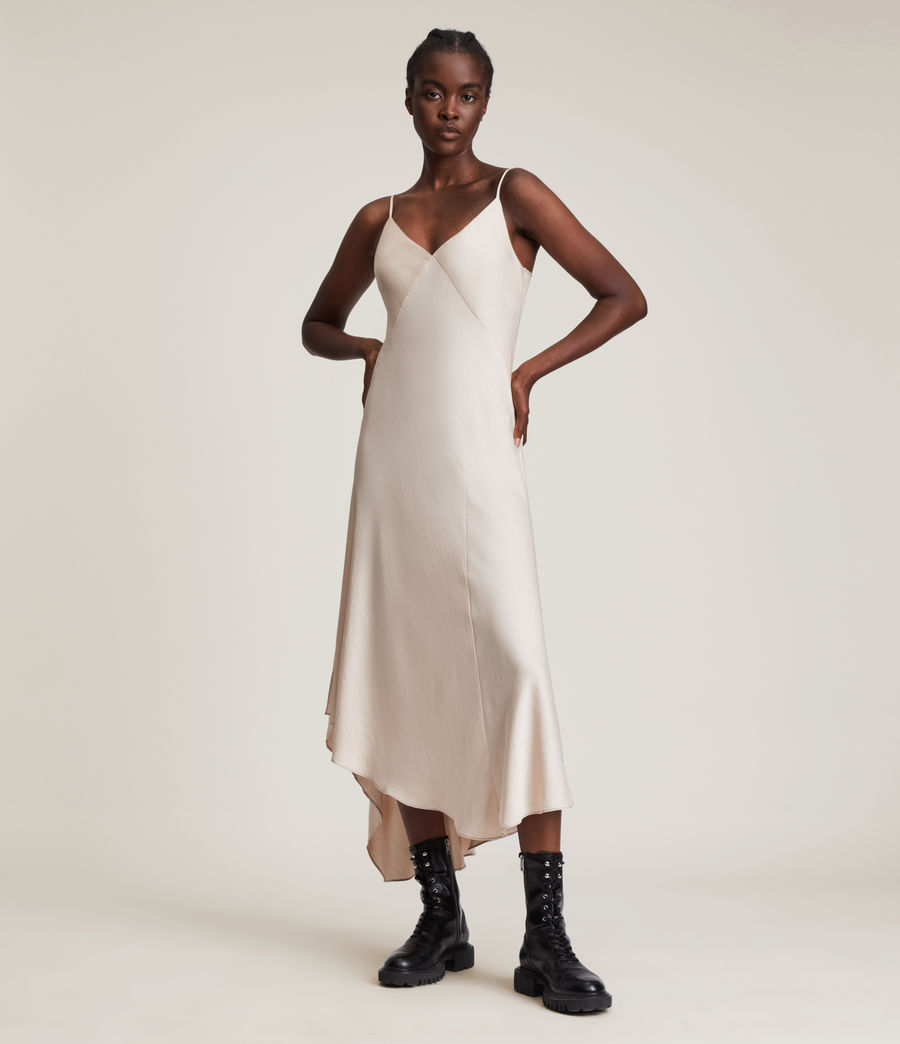 Womens Lena 2-In-1 Dress (black) - Image 5