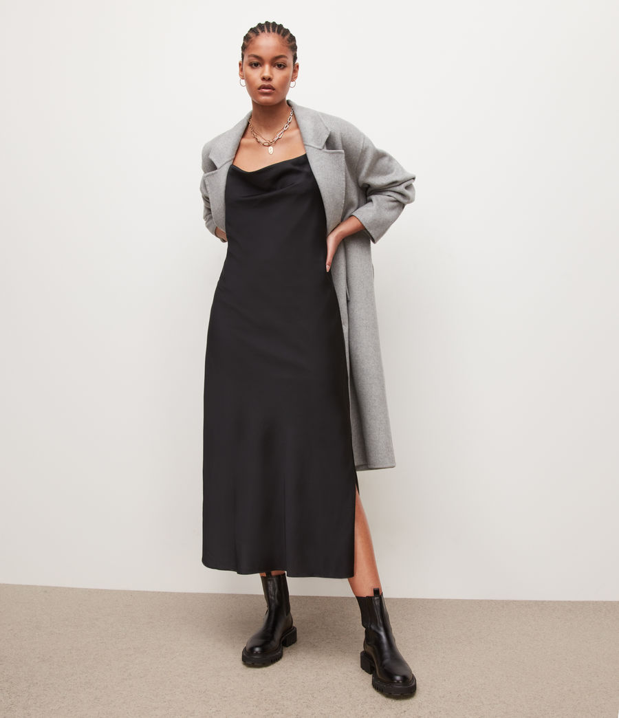 Womens Hadley Dress (black) - Image 1