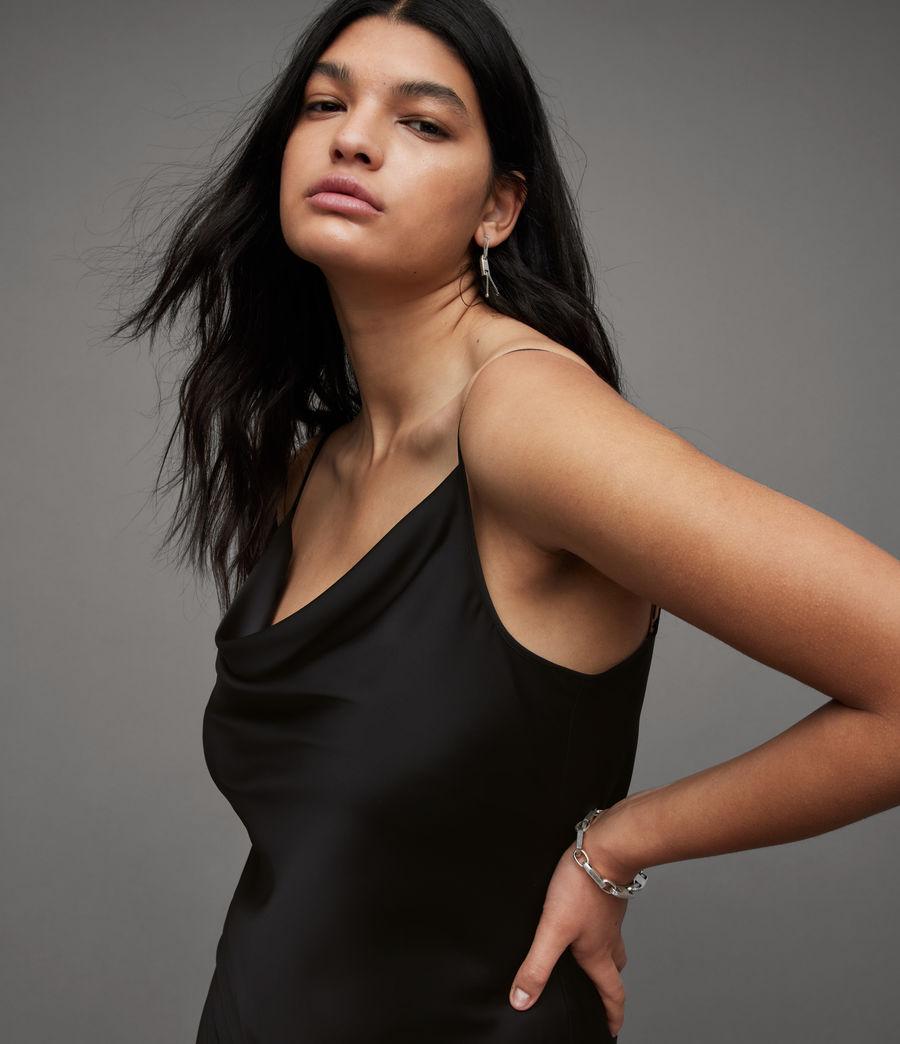 Womens Hadley Dress (black) - Image 2