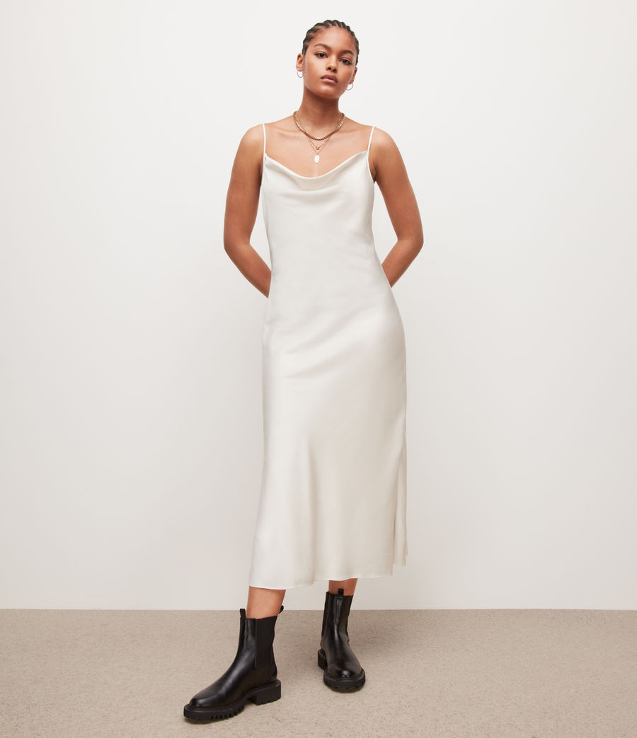 Womens Hadley Dress (arctic_white) - Image 1