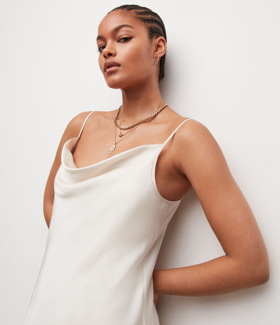 Womens Hadley Dress (arctic_white) - Image 2