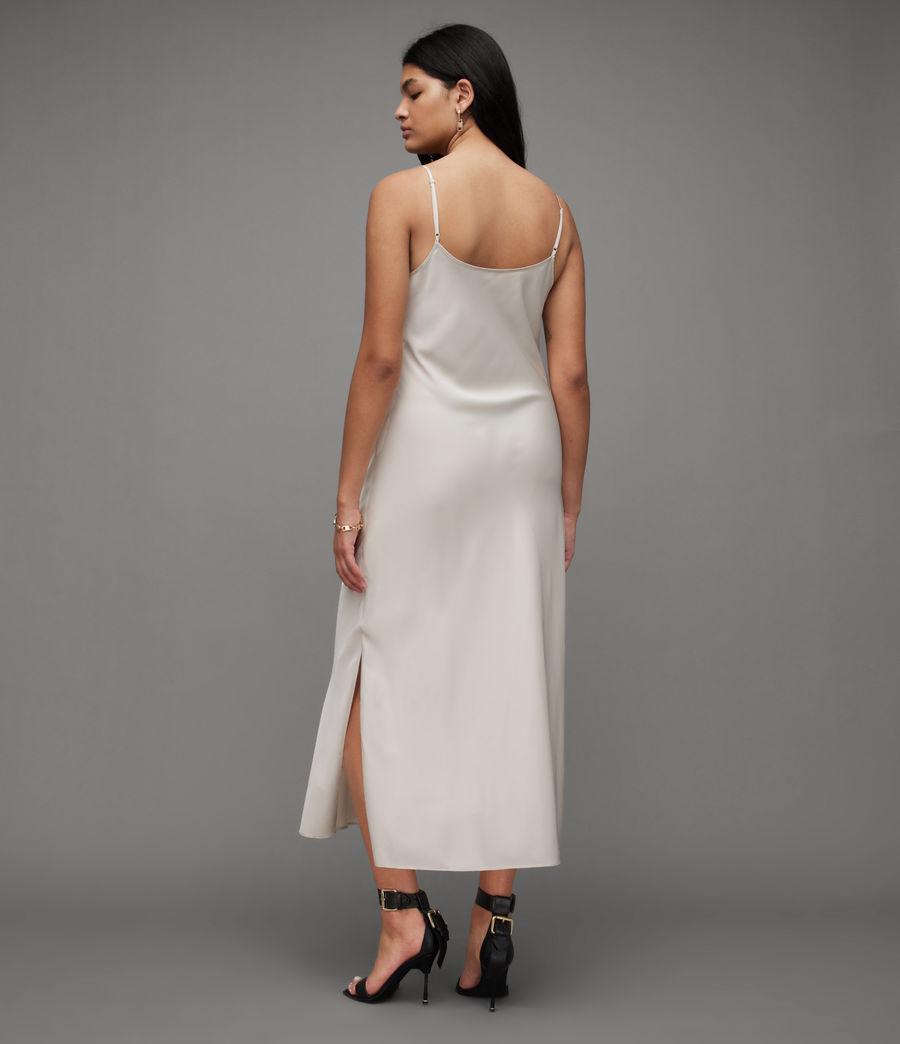 Womens Hadley Dress (arctic_white) - Image 3