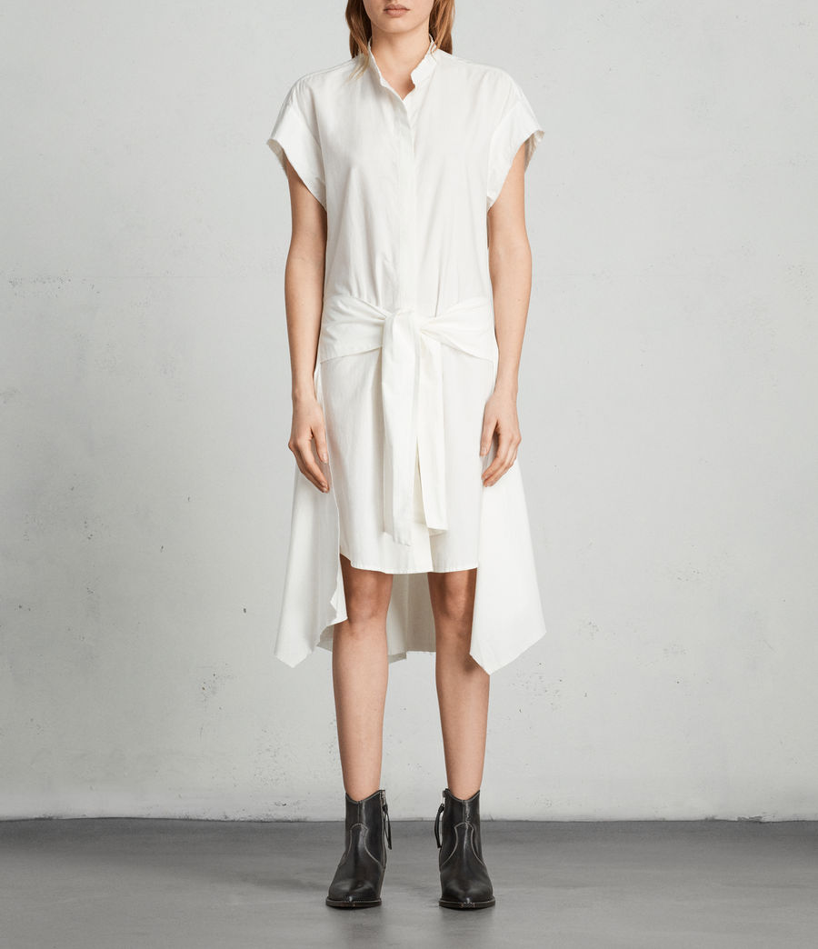 Women's Georgia Dress (chalk_white) - Image 1