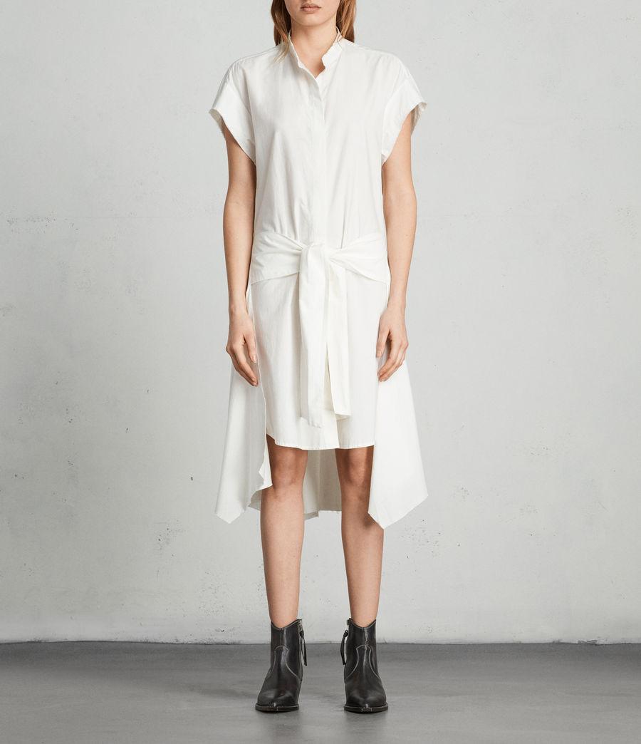 Womens Georgia Dress (chalk_white) - Image 1