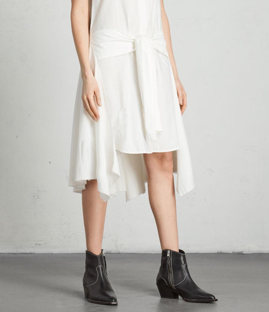Womens Georgia Dress (chalk_white) - Image 2