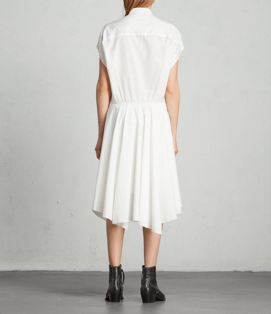 Women's Georgia Dress (chalk_white) - Image 4