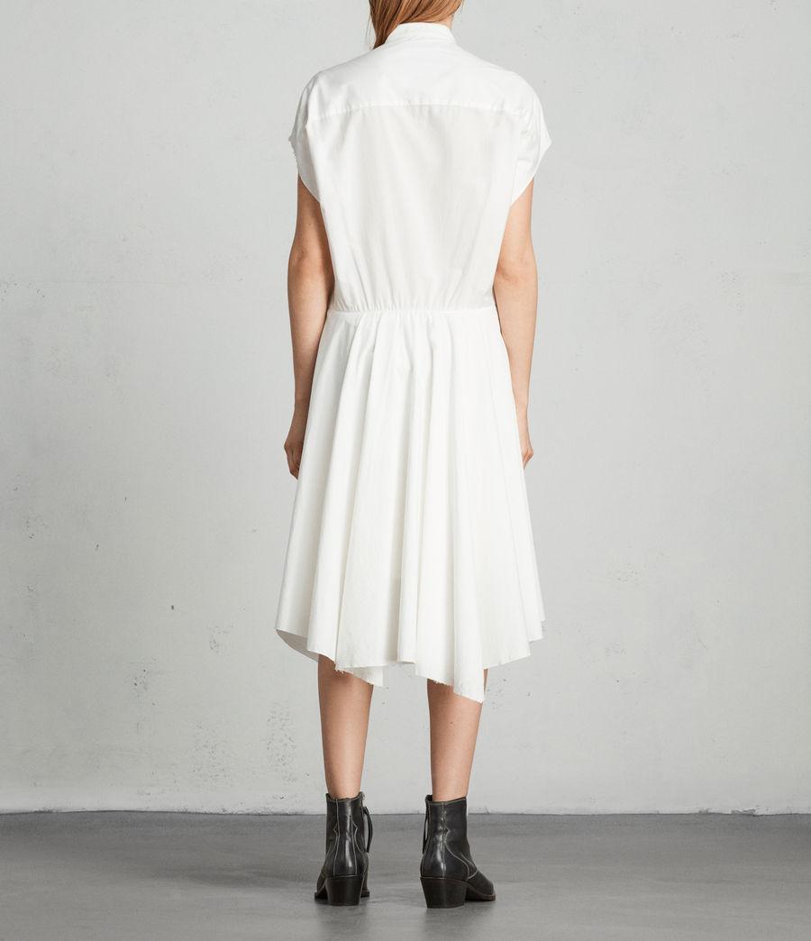 Womens Georgia Dress (chalk_white) - Image 4
