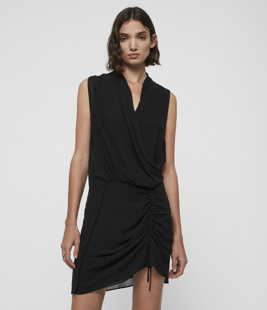Damen Cathea Kleid (black) - Image 1