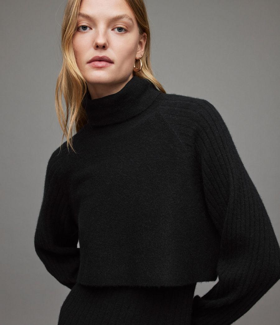 Womens Margot Dress (black) - Image 2